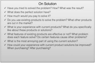 On Solution